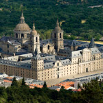 """""""Royal Monastery of San Lorenzo de El Escorial, Madrid, Spain. UNESCO declared The Royal Site of San Lorenzo of El Escorial a World Heritage Site. El Escorial is a historical residence of the king of Spain and was built by Philip II of Spain."""""""